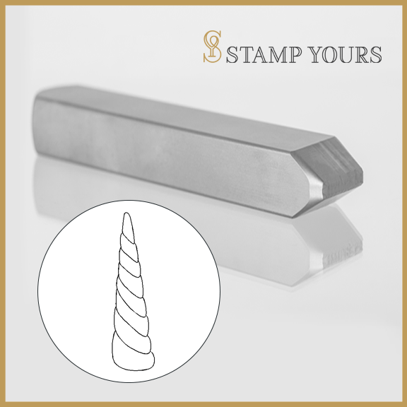 Unicorn Horn Metal Stamp - Stamp Yours