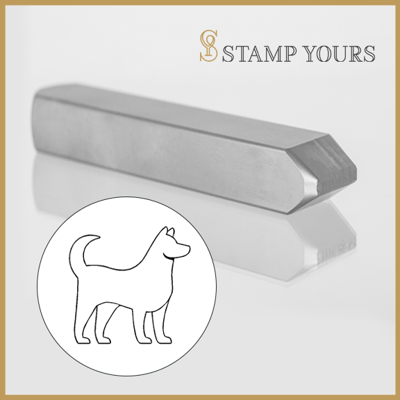 Dog Zodiac Animal Metal Stamp - Stamp Yours