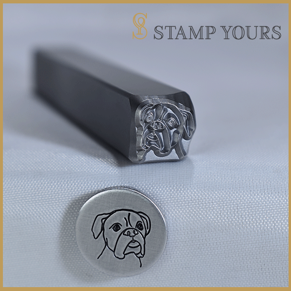 Boxer Metal Stamp - Stamp Yours