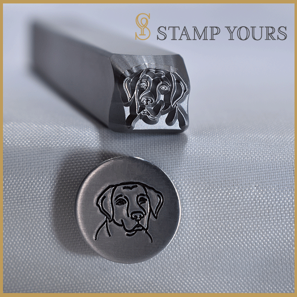 Labrador Metal Stamp - Stamp Yours