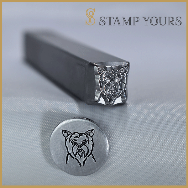 Yorkshire Terrier Metal Stamp - Stamp Yours