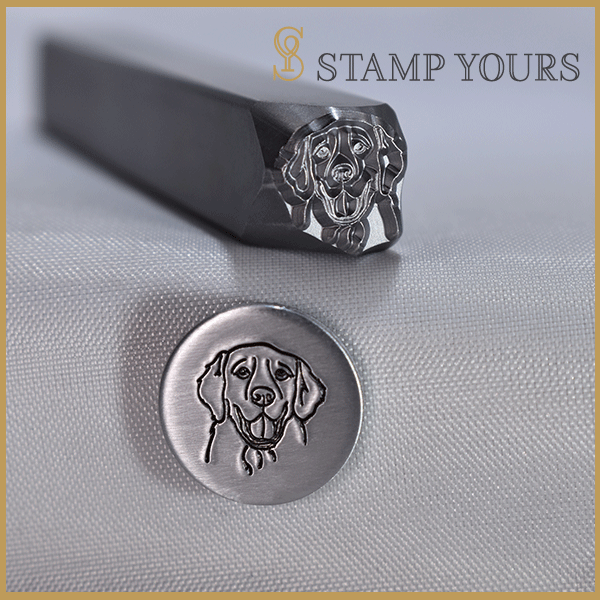 Golden Retriever Metal Stamp - Stamp Yours