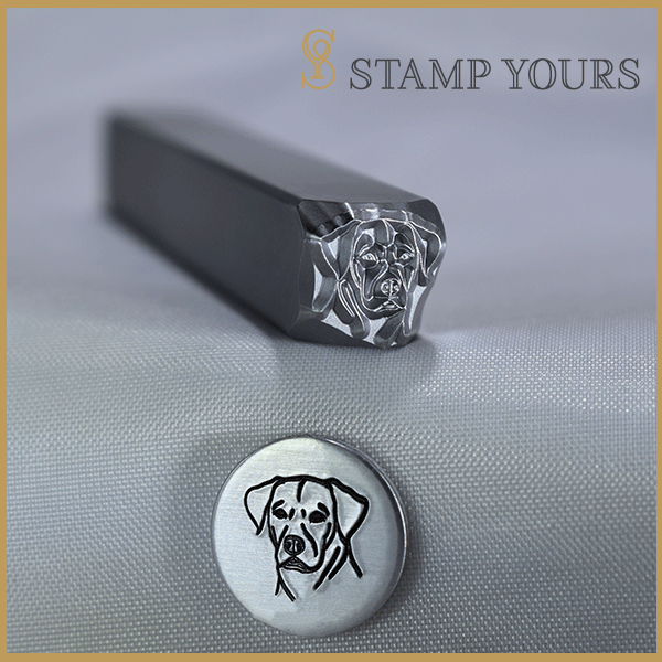 Pointer Metal Stamp - Stamp Yours