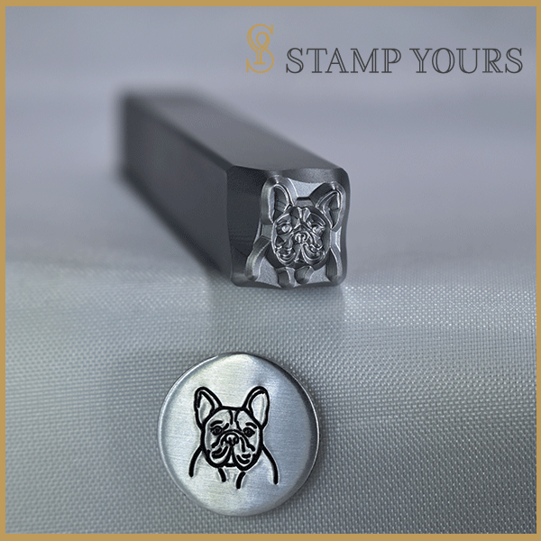 French Bulldog Metal Stamp - Stamp Yours
