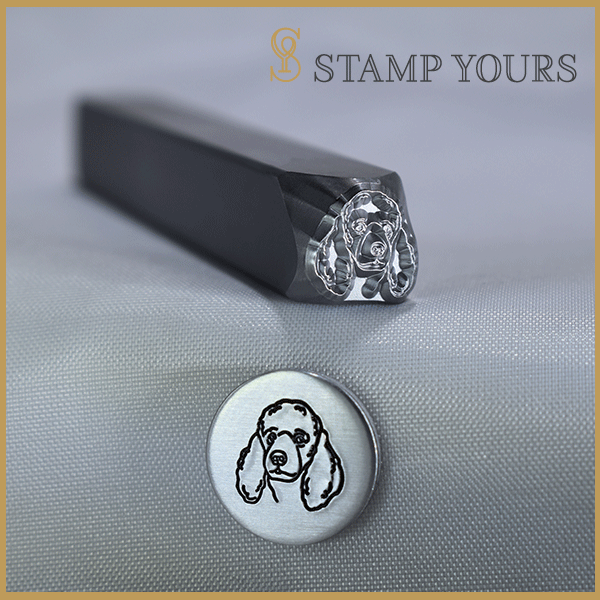 Poodle Metal Stamp - Stamp Yours