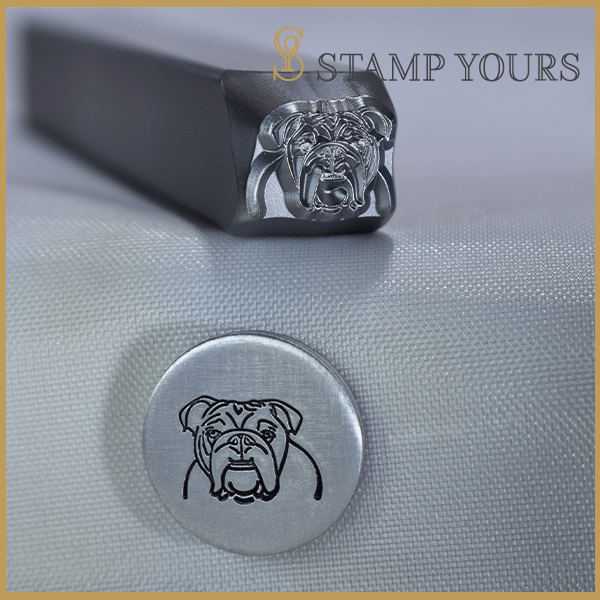 Bulldog Metal Stamp - Stamp Yours