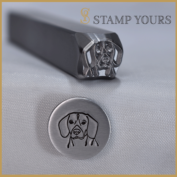 Beagle Metal Stamp - Stamp Yours