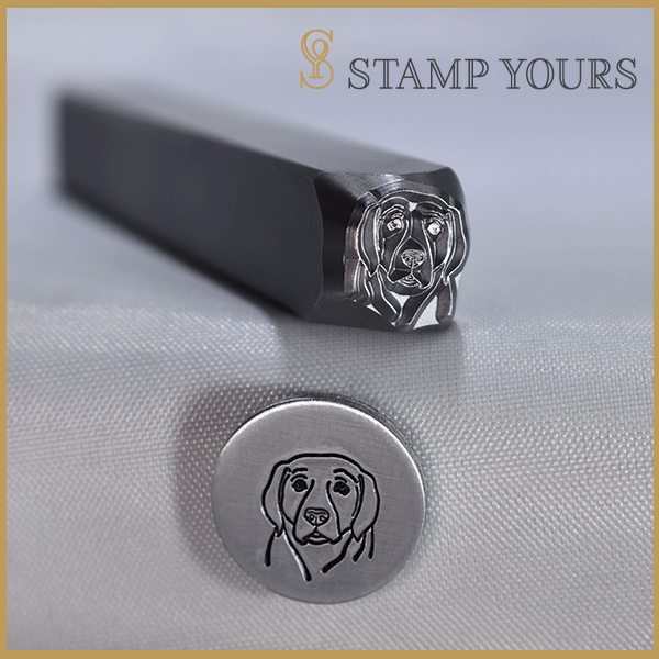 Hound Metal Stamp - Stamp Yours