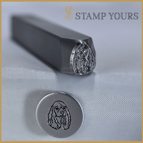 Cocker Spaniel Metal Stamp - Stamp Yours
