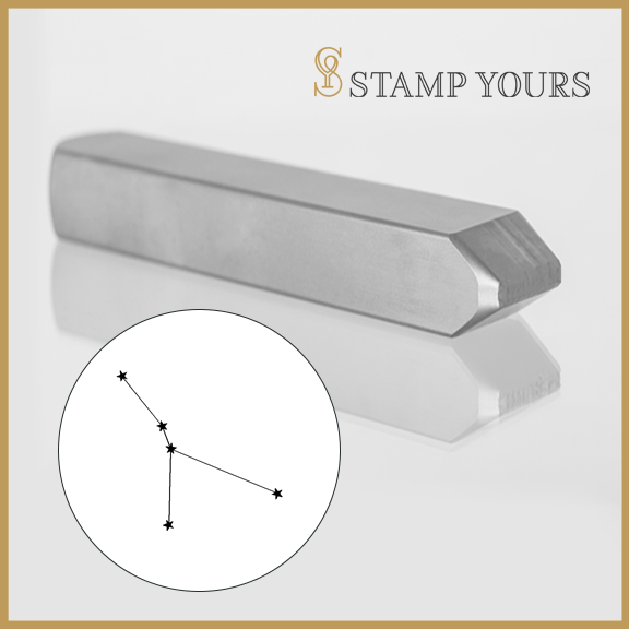 Cancer Constellation Metal Stamp - Stamp Yours