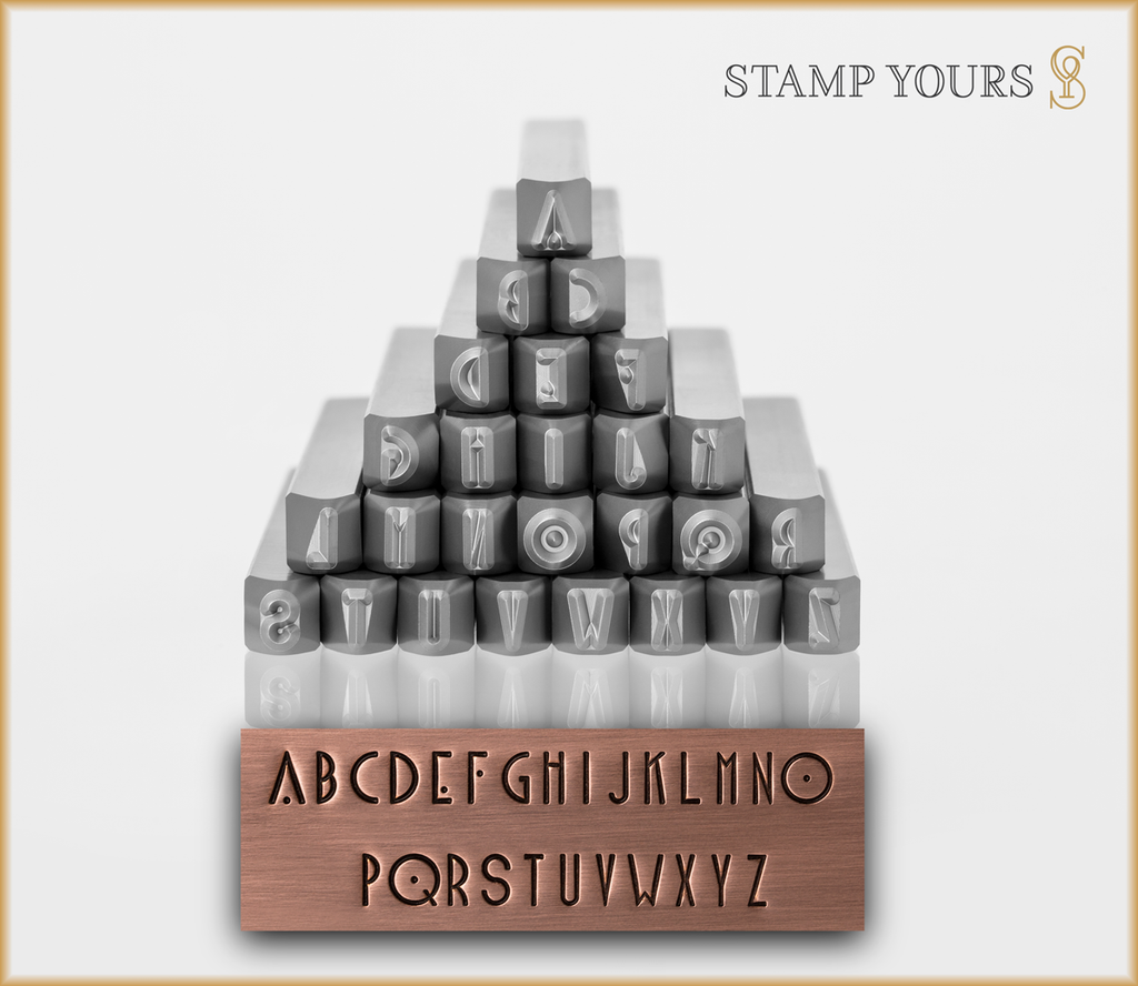 Blake 4mm Uppercase - Stamp Yours