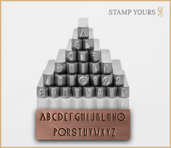 Blake 4mm - Alphabet Stamps - Stamp Yours