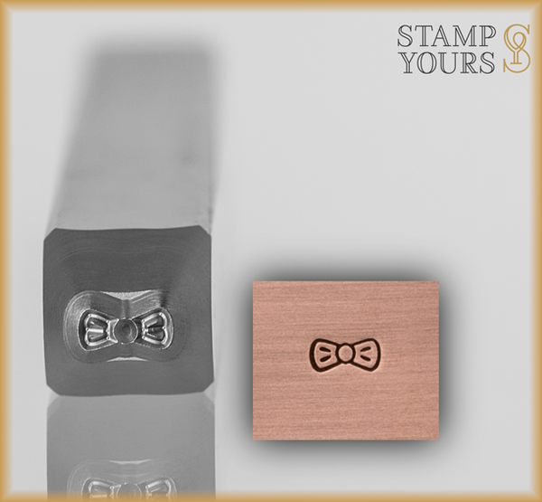 Bow Tie Design Stamp 1.5mm - Stamp Yours