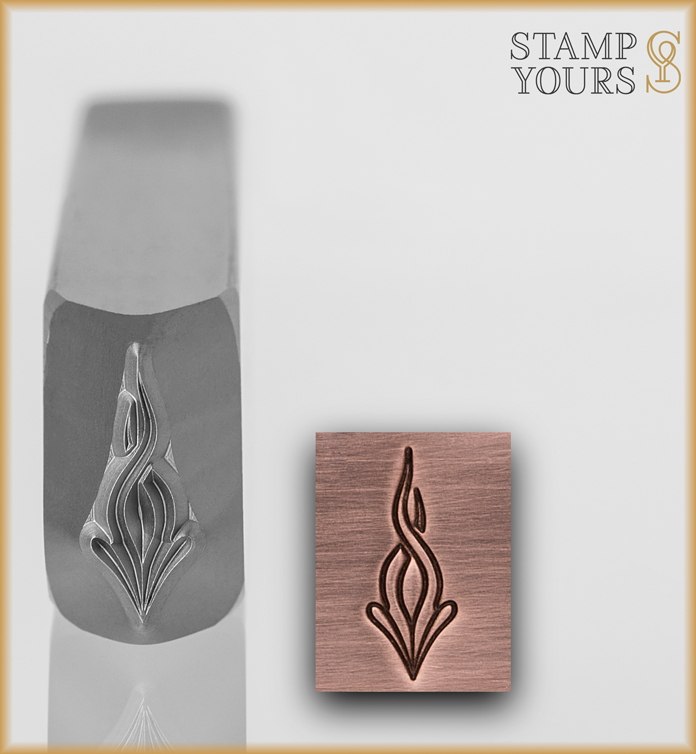 Design Composition Series - Braided Flame - Stamp Yours