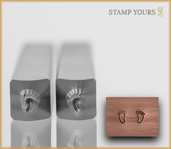 Baby Feet Design Set - Stamp Yours