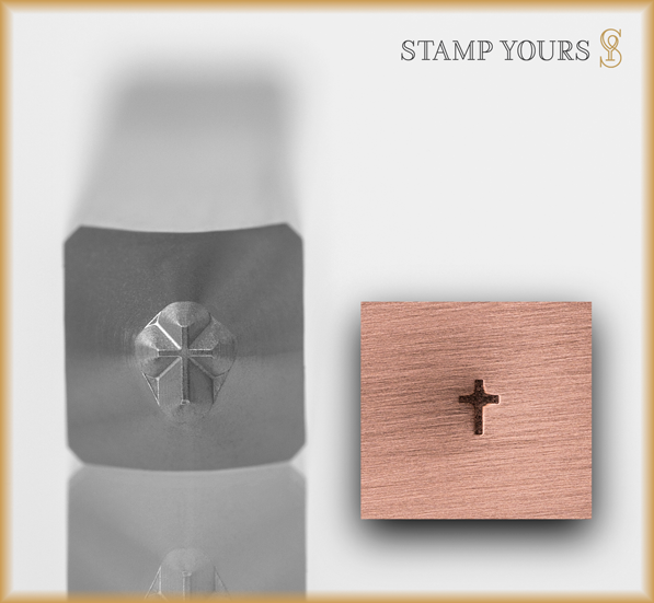 Tiny Cross - Stamp Yours
