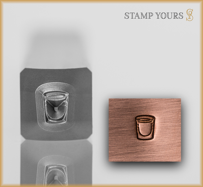 Shot Glass - Stamp Yours