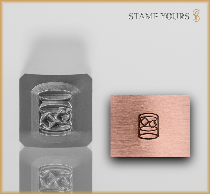 Scotch Glass - Stamp Yours