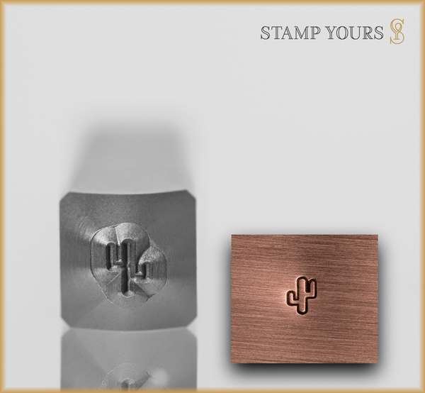 Small Cactus Design - Stamp Yours