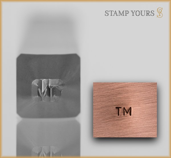 TM Metal Jewelry Hallmark Stamp - Stamp Yours