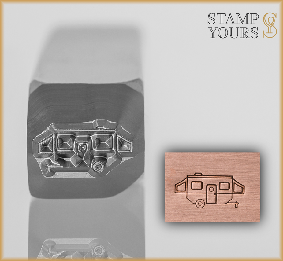 Camper Design Stamp 5mm - Stamp Yours