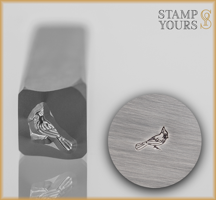 Cardinal Design Stamp - Stamp Yours