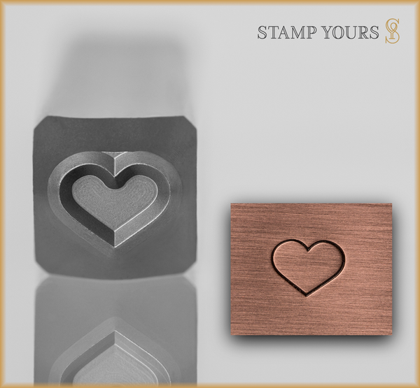 Heart Outline - Stamp Yours