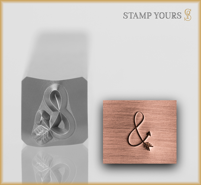 Ampersand Arrow Design - Stamp Yours