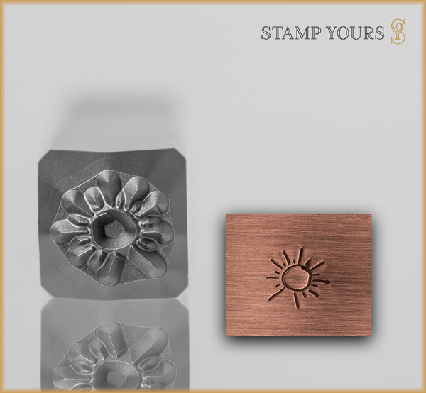 Hand Drawn Sun Design - Stamp Yours