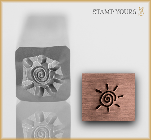 Sunswirl Design - Stamp Yours