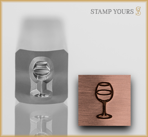 Wine Glass - Stamp Yours