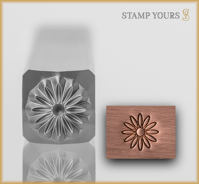 Daisy Design Stamp - Stamp Yours