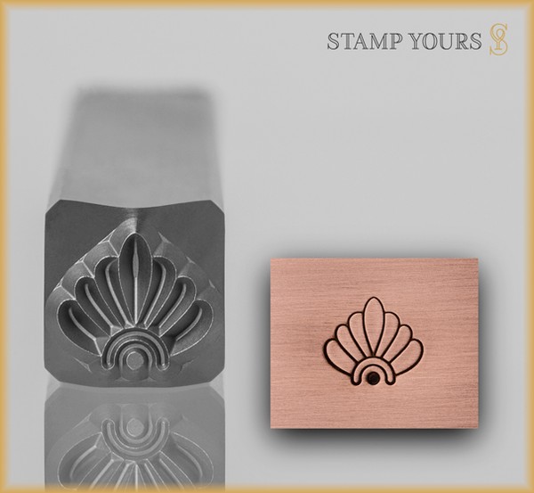 Stamp Yours Art Deco Pattern 1 Metal Design Stamp