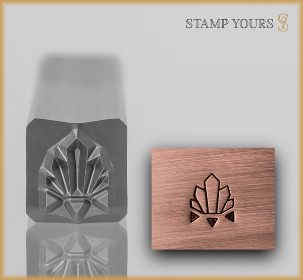 Stamp Yours Art Deco Pattern 3 Metal Design Stamp