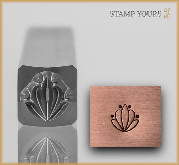 Stamp Yours Art Deco Pattern 4 Metal Design Stamp