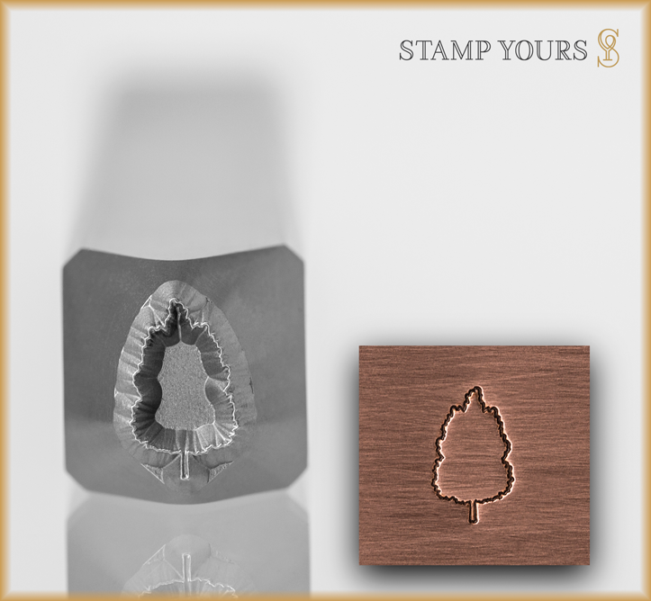 Maple Tree Outline - Stamp Yours