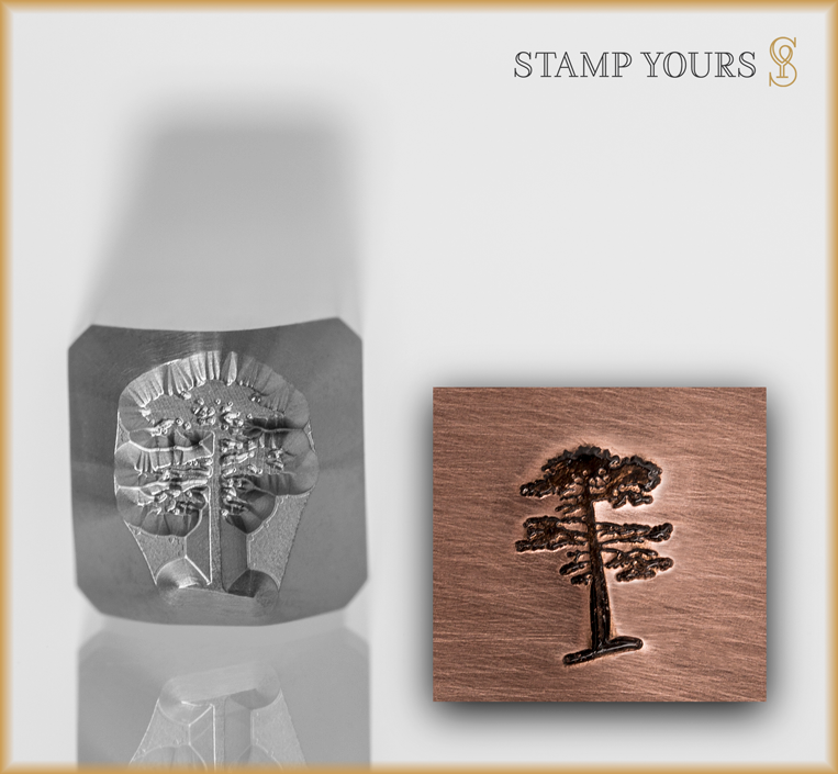 Cedar Tree - Stamp Yours