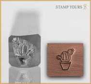 Cactus Plant - Stamp Yours