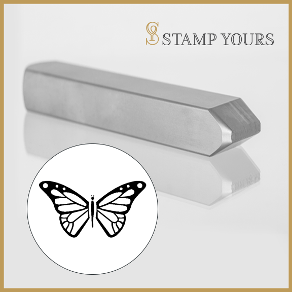 Butterly Metal Stamp - Stamp Yours