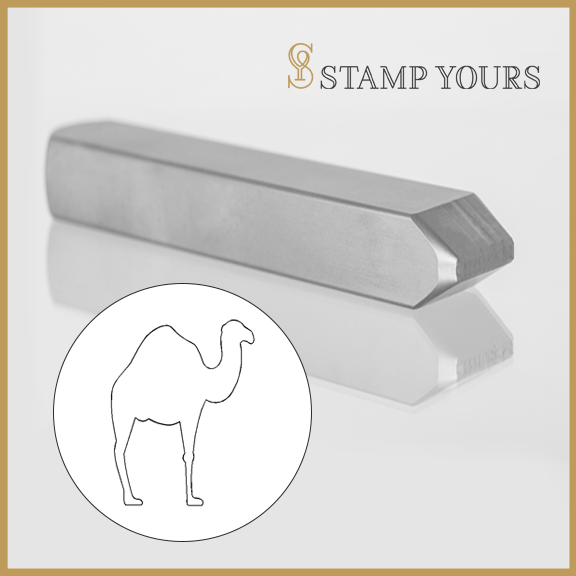 Camel Metal Stamp - Stamp Yours