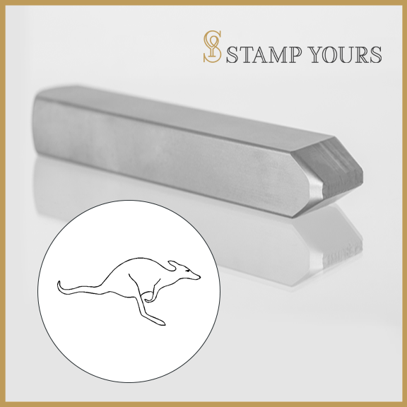 Kangaroo Metal Stamp - Stamp Yours