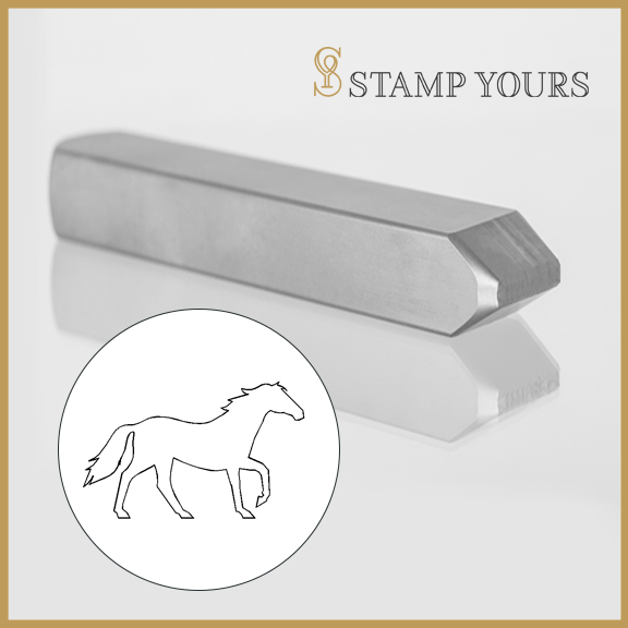 Horse Metal Stamp - Stamp Yours