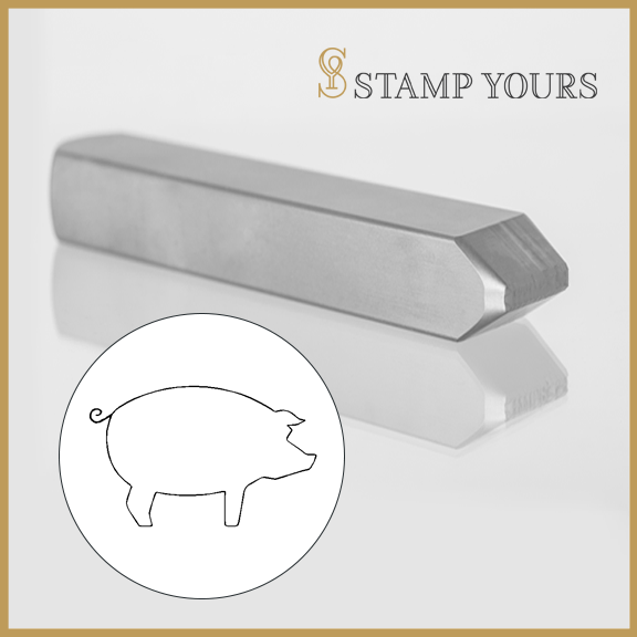 Pig Metal Stamp - Stamp Yours