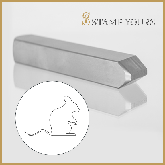 Rat Metal Stamp - Stamp Yours