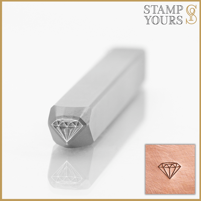 Diamond Metal Stamp Design For Jewelry and Stainless Steel By Stamp Yours