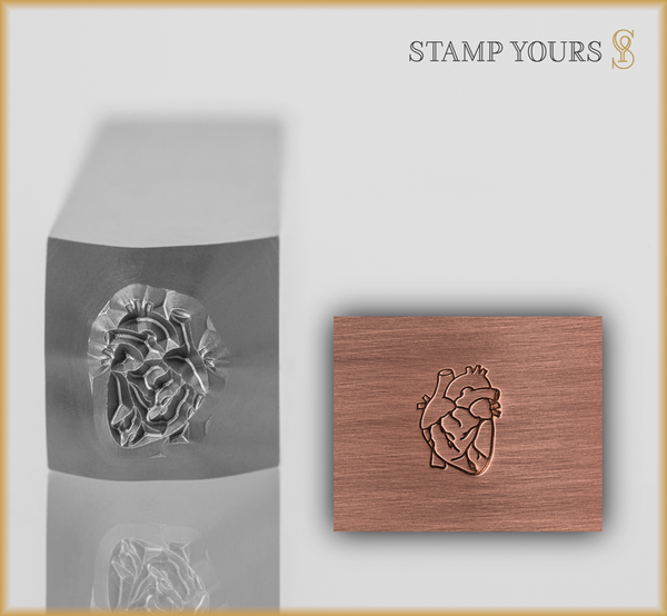 Anatomical Heart Design - Stamp Yours