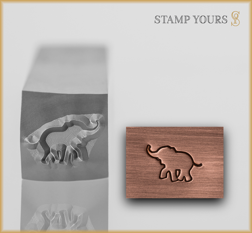 Elephant Design - Stamp Yours