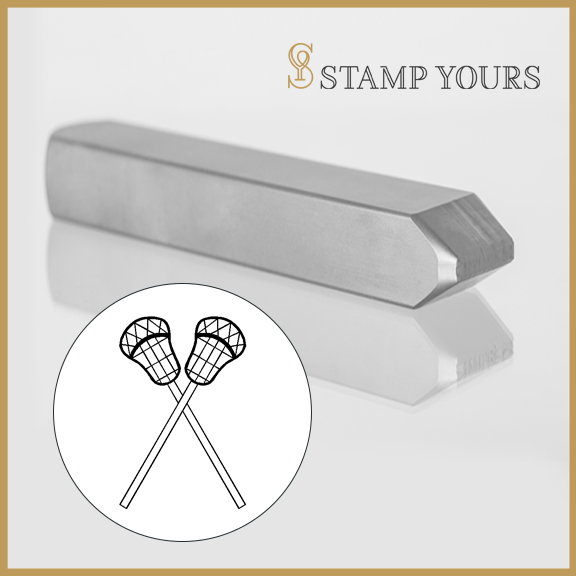 Lacrosse Metal Stamp - Stamp Yours
