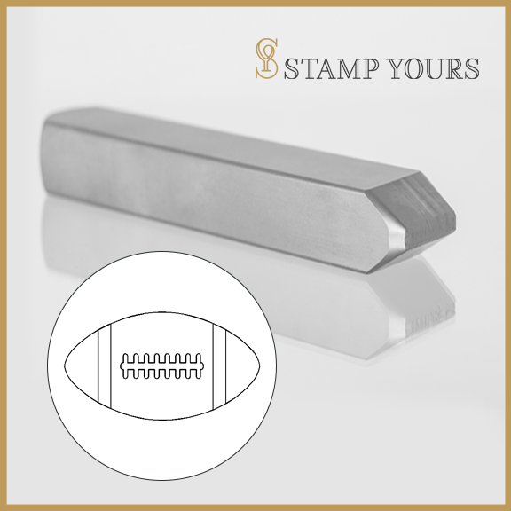 Football Metal Stamp - Stamp Yours