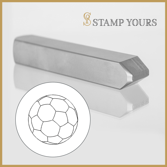 Soccer Ball Metal Stamp - Stamp Yours